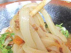 料理:カレーうどん麺@讃岐うどん大使・福岡麺通団