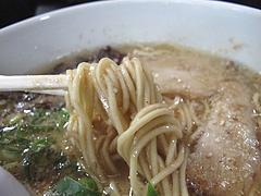 ランチ:ラーメン中太麺@おれのちゃんぽん・博多区半道橋