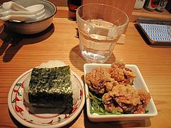 8ランチ:赤担々麺セット@AKAMARU食堂・電気ビル・渡辺通