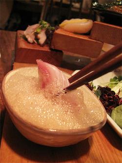 8酢醤油@博多炉端・魚男フォッシュマン