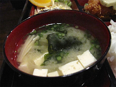 11ランチ:味噌汁@食季楽・風香・高宮