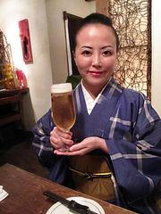 居酒屋:ビール@居心地屋レオン・薬院・居酒屋