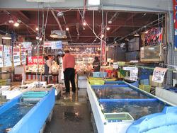 3店内@博多街道魚市
