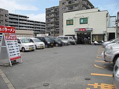 21外観:駐車場@ラーメン博多長浜風び・原本店