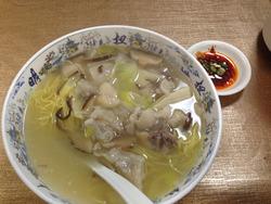 4猪蹄麺650円@大明火鍋城