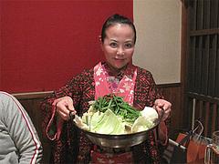 1料理:もつ鍋白味噌です。@からつ庵・奈良屋店・もつ鍋居酒屋