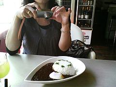 料理:キーマカレー撮影@ERBA LUNCH CAFE(エルバ ランチ カフェ)
