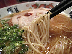 ランチ:ラーメン麺@ラーメン暖暮・西新