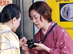 その他:今日感テレビ・上野敏子さん3。@らーめん大・福岡大橋店