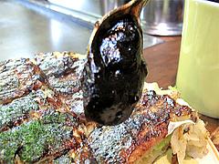 12ランチ:お好み焼のソース@お好み焼き・ふきや・赤坂店