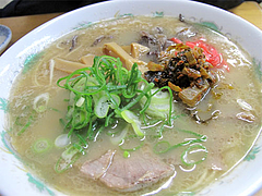 13料理:めんまラーメン470円@ラーメン未羅来留亭(ミラクルてい)・西新