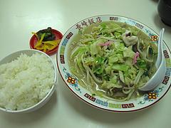 7ランチ:ちゃんぽんセット600円@長崎飯店・天神