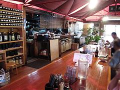 店内:テーブル席@元祖長寿らーめん・城南区堤