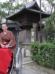 福岡・博多観光10@人力車の博多人力屋