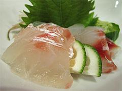 料理:いつも頼む鯛の昆布〆@博多なゝ草(はかたななくさ)・西中洲