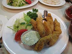 料理:生ガキフライ定食1,050円@レストラン喫茶・赤坂美松