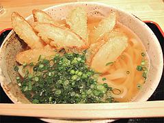 料理:かけうどん350円+ごぼう天100円@もちもち麺工房松・住吉