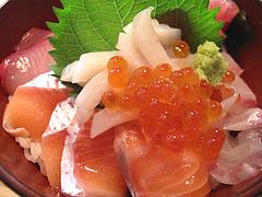 ランチ:魚男丼(海鮮丼)1@博多炉端・魚男(フィッシュマン)・今泉・天神