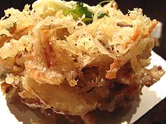 ランチ:野菜のかき揚げアップ@うどん・わらの蔵・今泉・天神