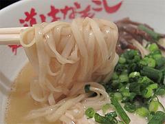 9ランチ:鶏とろラーメン麺@麺道はなもこし・薬院・ラーメン・つけ麺