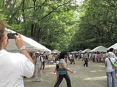 2テント@下鴨神社・納涼古本まつり(古本市)2012