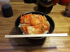 10ランチ:キムチ卵かけごはん200円@日の出食堂
