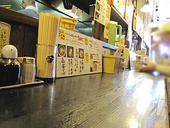 店内:カウンター席@ラーメン壱屋・六本松