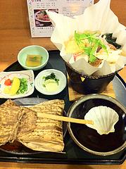 7ランチ:紙鍋うどんすき御膳1,050円@博多大福うどん・うどんすきと水炊き
