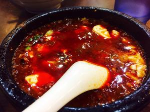 17頂点石焼麻婆豆腐1@味覚