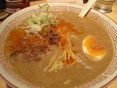 料理:半熟玉子ラータンメン(坦々麺)530円@博多麺屋ゆず・那の川