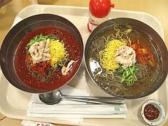料理:特製冷麺680円とビビン冷麺730円@石焼ビビンバ&@石焼ビビンバ&冷麺ビビン亭・ゆめタウン久留米