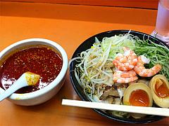 ランチ:つけ麺650円@二丁目ラーメン・港・福岡