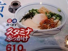 メニュー:スタミナぶっかけ(温・冷)610円@ウエストうどん渡辺通り店