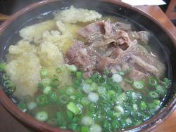 8肉ごぼううどん670円@太さぶろう・うどん