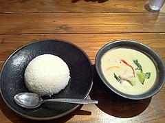 ランチ:グリーンカレー750円@大橋・タイ料理・オシャ