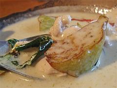 料理:グリーンカレーライスの具@タイ屋台料理&ヌードル・オシャ
