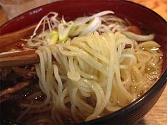 ランチ:魚男ラーメンの中華そば麺@博多炉端・魚男(フィッシュマン)・今泉・天神