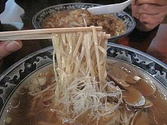 12ランチ:あさりそば麺@つどい・長浜・ラーメン