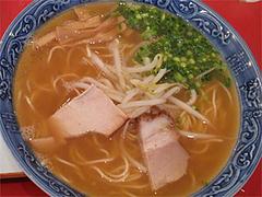料理:ラーメンセットのラーメン@四方平・北九州小倉