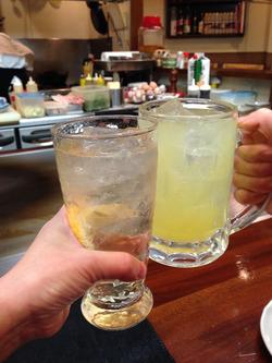 3乾杯@春来