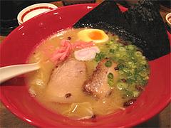 料理:本店かさね味800円@博多一風堂大名本店