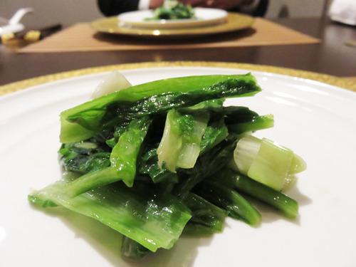 13本日の野菜の腐乳炒め