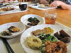 料理1@にじの耳納の里・夢キッチン・ランチバイキング