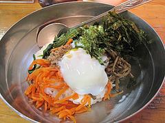 4ランチ:ビビンバ400円+玉子50円@ビビンバ・韓国冷麺専門店・菜ずき・天神
