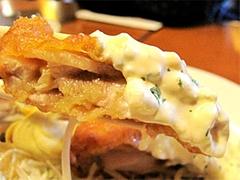 料理:チキン南蛮定食のチキン南蛮アップ@ハローコーヒー清水店