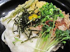 料理:山いもぶっかけ@うどん・麺屋岩田