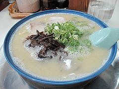 料理:ラーメン480円@しばらく平和台店・大手門