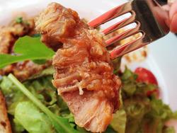 11オーソブッコ肉がん見@トラットリア・ジロ