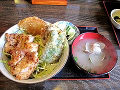 5ランチ:焼とり丼500円@焼とり筑ぜん・博多駅前