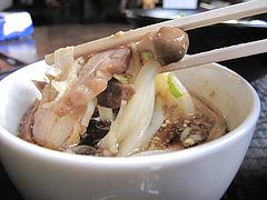 13ランチ:鶏きのこ(鶏ときのこのつけめん)食べる@讃岐うどん大使・福岡麺通団・薬院